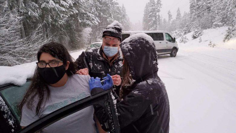 Vaksinime në kushte të jashtëzakonshme në Oregon të SHBA-ve