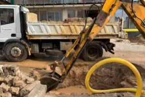 KRU 'Prishtina': Disa lagje të Prishtinës mbesin pa ujë të pijshëm, shkak prishja e gypit të Badocit