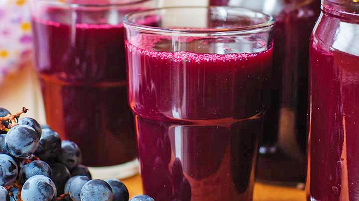 Disa veti shëruese të lëngut të rrushit