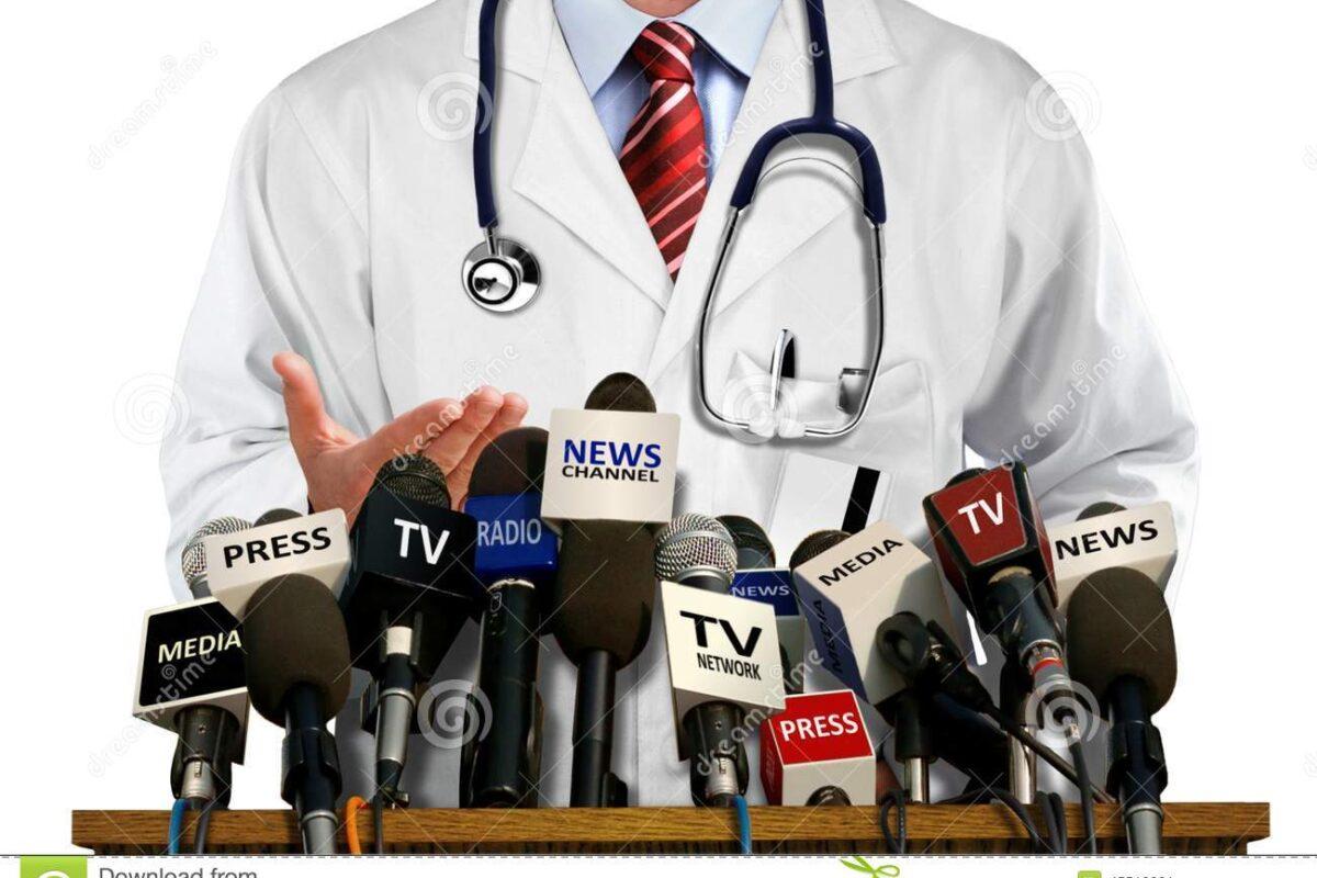 Paraqitja e ekspertëve shëndetësorë në media, shumë e rëndësishme për qytetarët