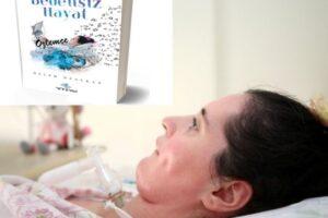 Gruaja turke e paralizuar nga një sëmundje neurologjike, shkruan libër me lëvizjen e syve