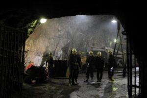 Humb jetën një minator në minierën e Cërnacit