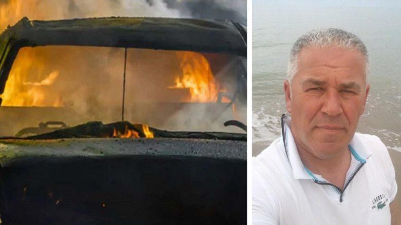 Kavajë, burri djeg bashkëshorten brenda veturës pastaj vetëvaret në pemë