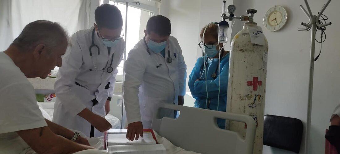 """""""Faleminderit që jepni maksimumin për fitim të luftës me pandeminë"""", fjalët e një qytetari drejtuar doktorit Gojart Hoxha"""