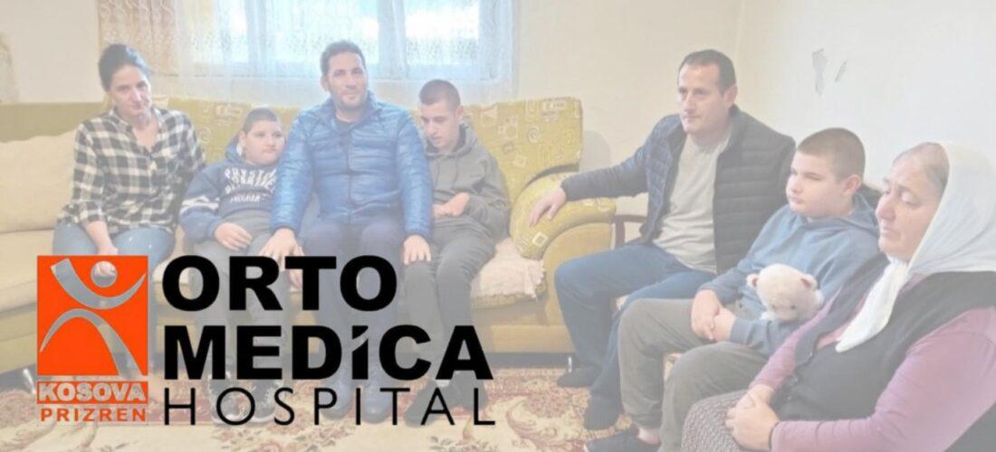 Spitali Ortomedica merr përsipër operimin e tre vëllezërve në karrocë
