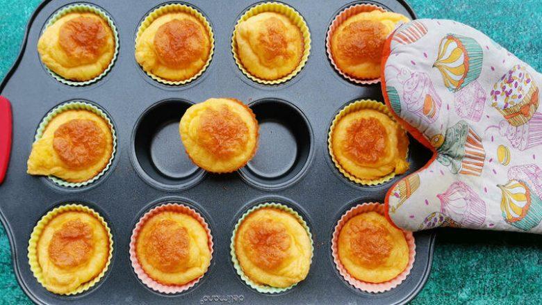 Muffins proteinash pa miell
