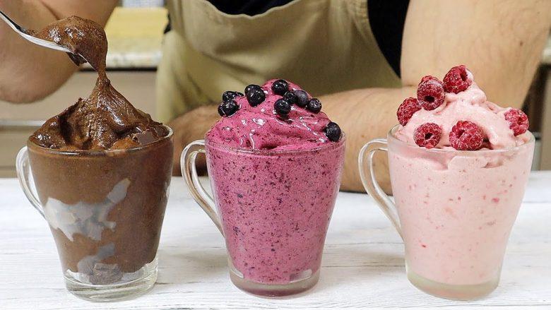 Akullore kremoze dhe e shijshme pa sheqer fare