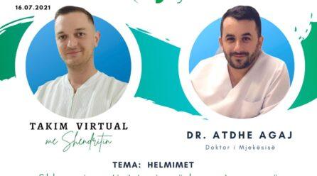 """Sonte në """"Takim virtual me Shëndritin"""", doktori i mjekësisë, Atdhe Agaj"""