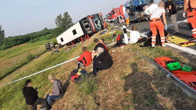 """""""Deva Tours"""" konfirmon se njëri nga shoferët humbi jetën në aksidentin në Kroaci"""
