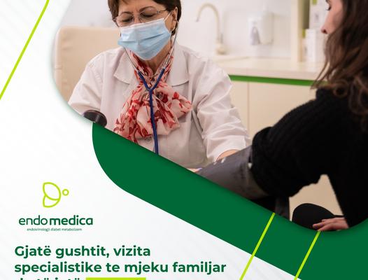 Poliklinika Endomedica, me një ofertë ideale  – Gjatë muajit gusht vizitat specialistike te mjeku familjar do të jenë falas