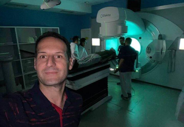 Kryhet rrezatimi i parë me aparatin e ri në Klinikën e Onkologjisë