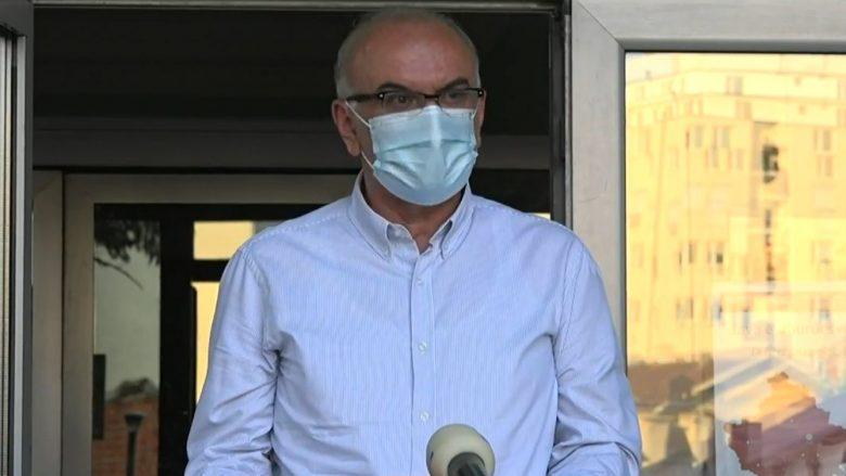 Ramadani: Për dy javë infektimet e reja me coronavirus kanë rënë për 75 përqind