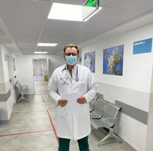 """Pulmologu Marku: """" 7 nga 86 pacient sa i kemi të hospitalizuar në klinikën tonë,janë në gjendje shumë të rëndë"""""""