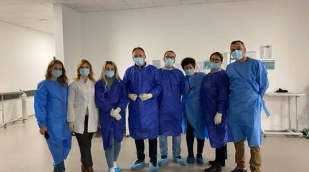 Klinika Infektive II – storie suksesi në menaxhimin e pandemisë